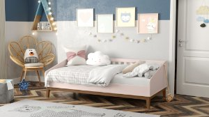 cama babá nature rose ecowood - matic