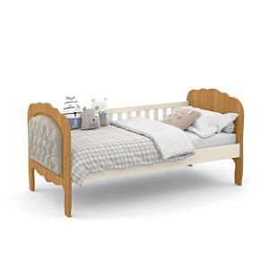 cama baba provence off white freijó com capitonê - matic