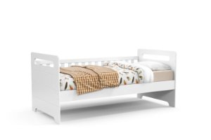 cama baba vitta branco soft - matic