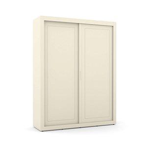 roupeiro tutto new 02 portas/correr off white - matic