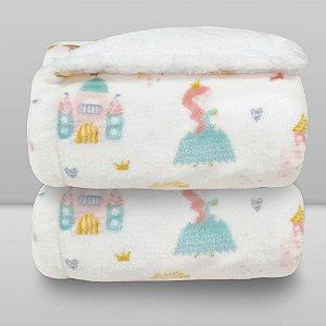 cobertor estampado princesa