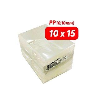 Saco Plástico PP - Tamanho 10x15 (0,10mm) - 1.000 und (pct)