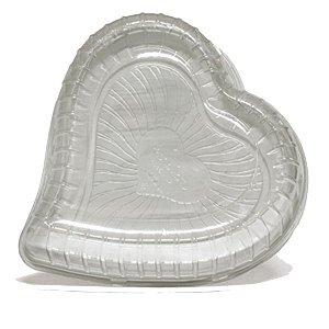 KIT - Embalagem Torta Coração Peq. - 1,5kg - Galvanotek -G 50H - Pct c/ 10 und