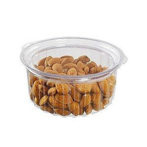 KIT - Pote Redondo 350 ml - Articulado - Descartável - Praticpack - Caixa 200 peças