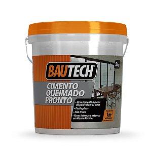 BAUTECH - Cimento Queimado Pronto