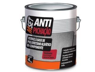 BAUTECH - Verniz a Base de Poliretano Asfáltico Bi-Componente Antipichação