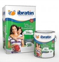 IBRATIN - Tinta Acrílica Econômica  3,6L