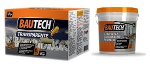 Kit - Cimento Queimado e Manta Liquida Transparente