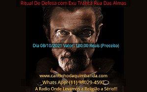 RITUAL DE DEFESA COM EXU TRANCA RUA DAS ALMAS