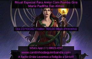 RITUAL ESPECIAL PARA O AMOR COM POMBA GIRA MARIA PADILHA DAS ALMAS