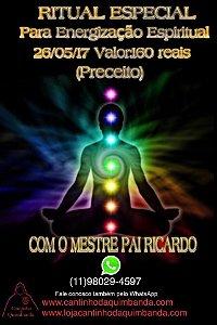 Ritual Especial Para Energização Espiritual Com Mestre Pai Ricardo