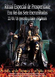 Ritual Especial Prosperidade Exu Rei Das Sete Encruzilhadas
