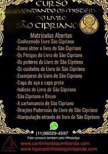 CURSO DESVENDANDO OS MISTERIOS DO LIVRO DE SÃO CIPRIANO 2019