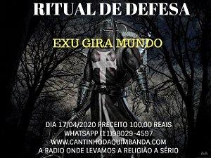 RITUAL DE DEFESA EXU GIRA MUNDO