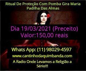 RITUAL DE PROTEÇÃO COM POMBA GIRA MARIA PADILHA DAS ALMAS