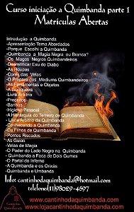 CURSO INICIAÇÃO A QUIMBANDA PARTE 01