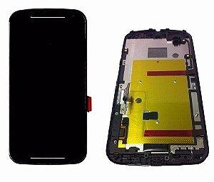 Display c/Flip completo Moto G 2ª geração XT1068