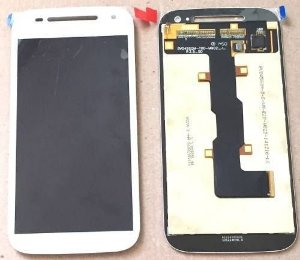 Display c/Touch Moto E 2ª geração XT1523 branco