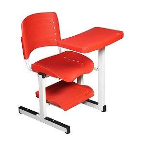 Cadeira universitária com prancheta deslizante