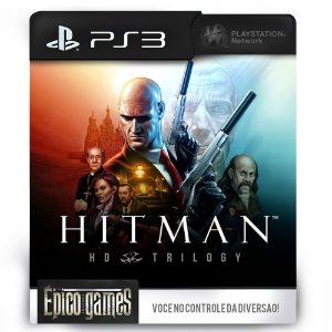 Hitman Trilogy HD - PS3 - Midia Digital