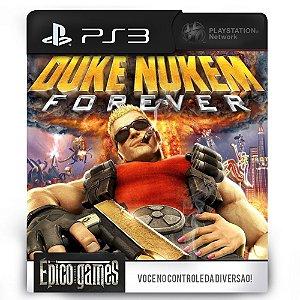 Duke Nukem Forever - PS3 - Midia Digital