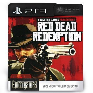Red Dead Redemption - PS3 - Midia Digital