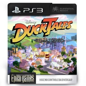 DuckTales Remastered - PS3 - Midia Digital