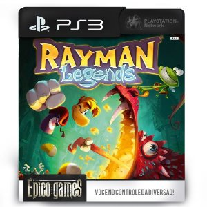 Rayman Legends - PS3 - Midia Digital