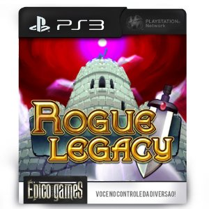 Rogue Legacy - PS3 - Midia Digital