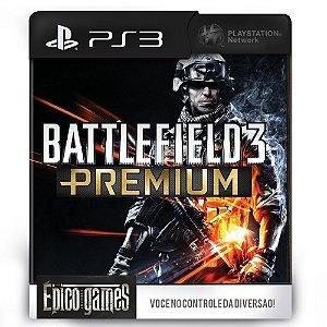 Battlefield 3 Premium - DLC Expansões - PS3 - Midia Digital