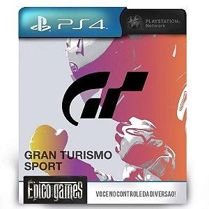 Gran Turismo Sport - PS4 - Midia Digital