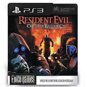 Resident Evil Operation Raccoon City - PS3 - Midia Digital