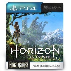 Horizon Zero Dawn - PS4 - Midia Digital