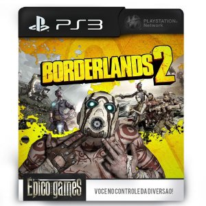 Borderlands 2 - PS3 - Midia Digital