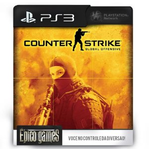 Counter Strike Global Offensive - PS3 - Midia Digital