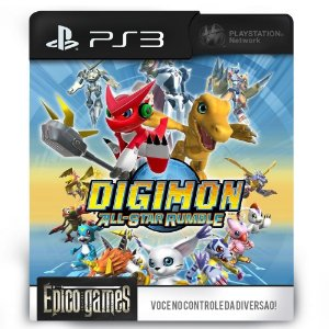 Digimon All Star Rumble - PS3 - Midia Digital