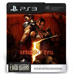 Resident Evil 5 Gold Edition - PS3 - Midia Digital
