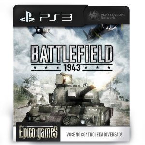 Battlefield 1943 - PS3 - Midia Digital