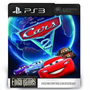 Cars 2 The Video Game (Carros 2) - PS3 - Midia Digital