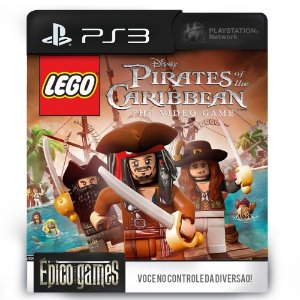 LEGO Pirates of the Caribbean The Video Game - PS3 - Midia Digital
