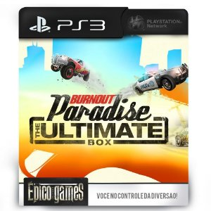 Burnout Paradise Ultimate Edition - PS3 - Midia Digital