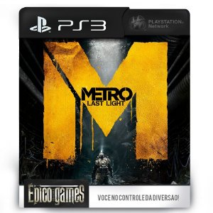 Metro Last Light - PS3 - Midia Digital