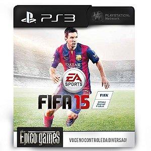 Fifa 15 - PS3 - Midia Digital
