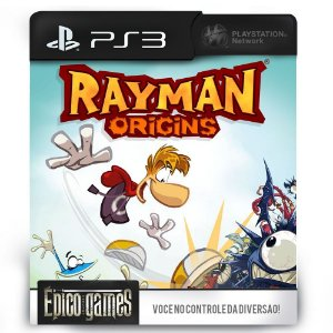 Rayman Origins - PS3 - Midia Digital