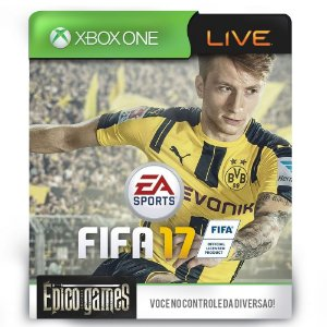 FIFA 17 - Dublado - Xbox One - Midia Digital