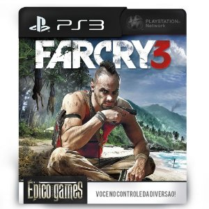 Far Cry 3 - PS3 - Midia Digital