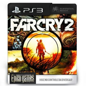 Far Cry 2 - PS3 - Midia Digital
