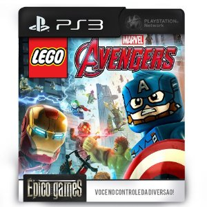 LEGO Marvel Avengers - Vingadores - PS3 - Midia Digital