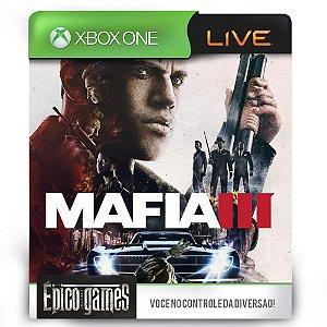Mafia 3 - Xbox One - Midia Digital