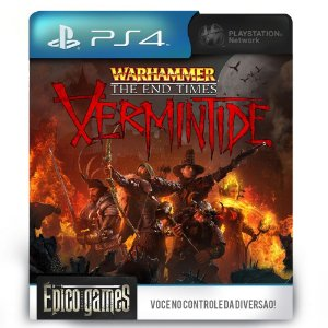 Warhammer End Times - Vermintide - PS4 - Mídia Digital